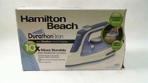 hamilton beach plancha azul, modelo 19800