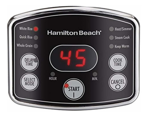 hamilton beach rice  x26amp  hot cereal cooker,