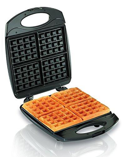 hamilton beach waffle maker de 4 piezas (26020)