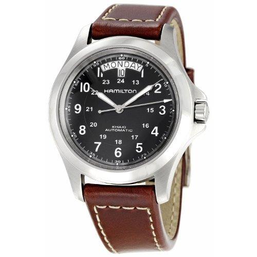 King Khaki Para Hombre Automático Hamilton Reloj DH2E9I