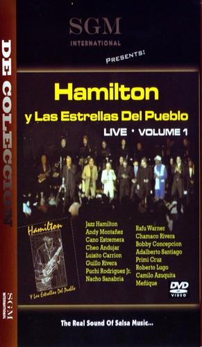 hamilton y las estrellas del pueblo live dvd