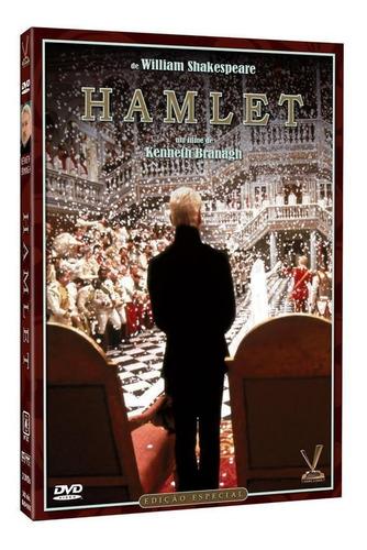 hamlet - dvd duplo - kenneth branagh - kate winslet