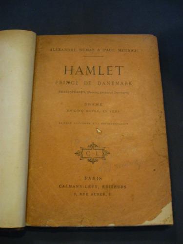 hamlet, principe de dinamarca, shakespeare, dumas, meurice,