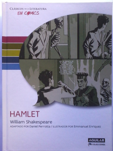 hamlet - william shakespeare - comic