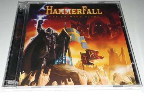 hammerfall - one crimson night (2cd) lacrado