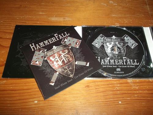 hammerfall -  steel meets steel cd doble nac ed 2007 mdisk
