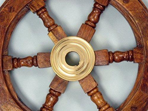 hampton náutica de lujo de clase de madera y latón de la ru