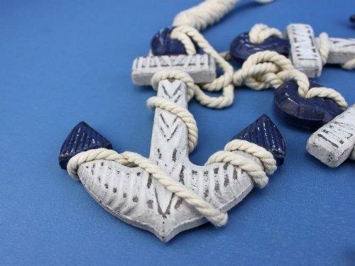 hampton nautical conjunto rústico azul de madera del...