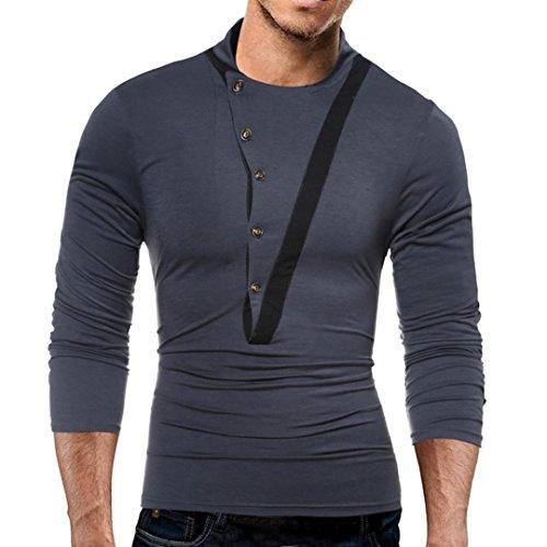 Han Shi Camisa Para Hombre 7a3ec8b4269