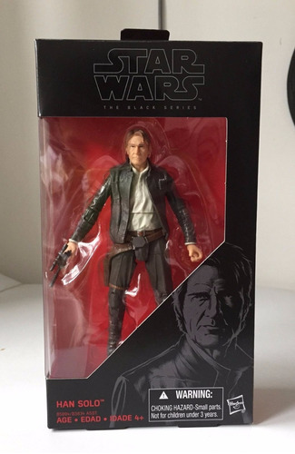 han solo black series star wars the force awakens trabucle