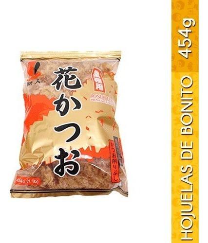 hanakatsuo tetsujin hojuelas de bonito seco 454g