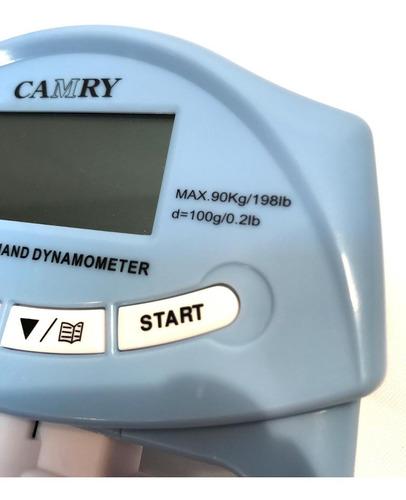 hand grip dinamômetro digital 130kg wct fitness 600170