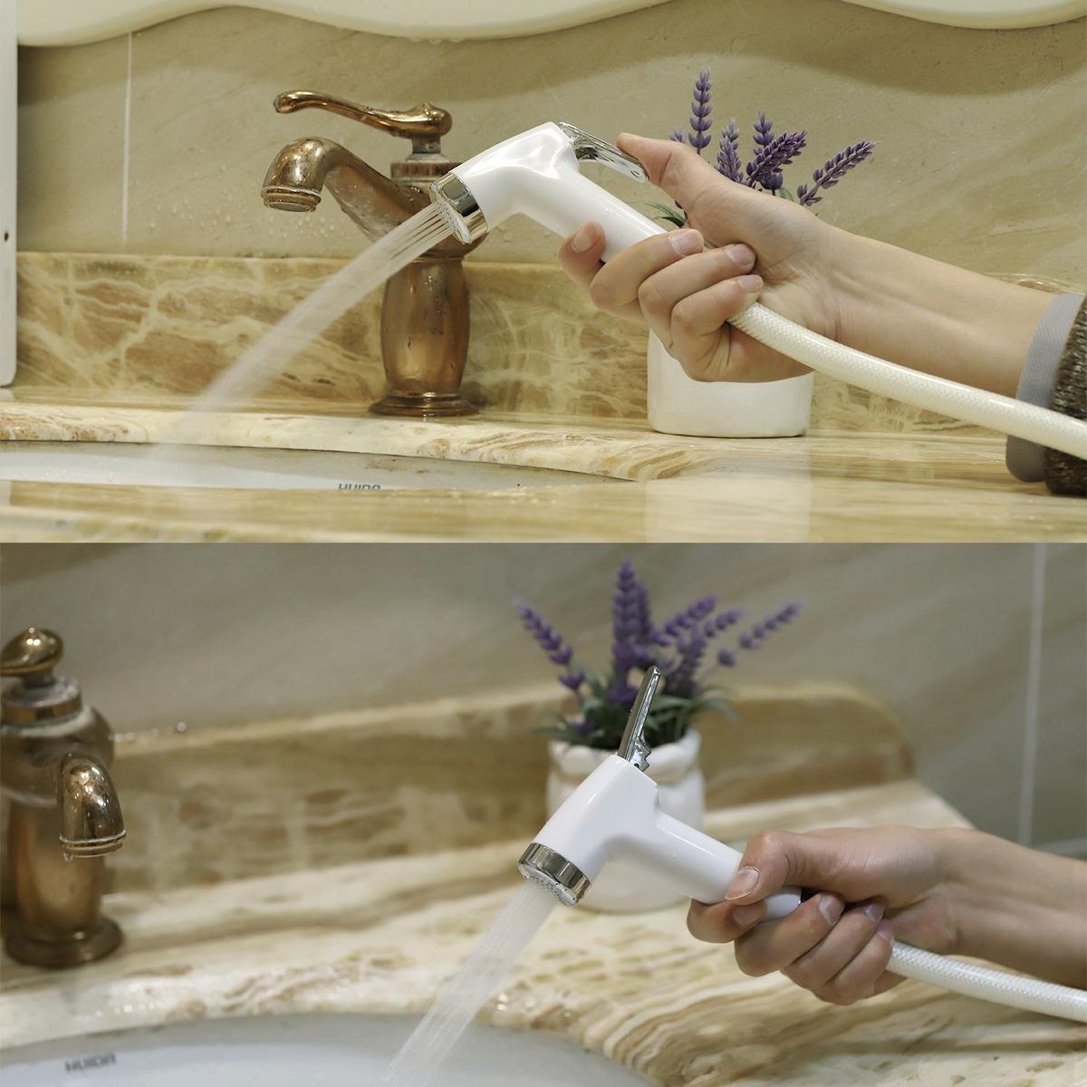 Marvelous Hand Held Bidet Sprayer Bathroom Toilet Set Cloth Diaper Spr Inzonedesignstudio Interior Chair Design Inzonedesignstudiocom
