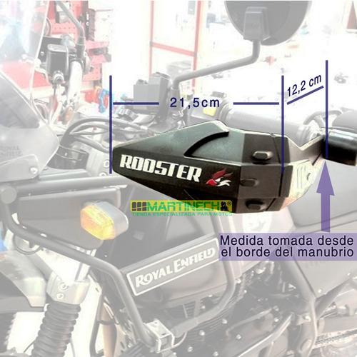 hand saver moto cortavientos protector manos manillares plus