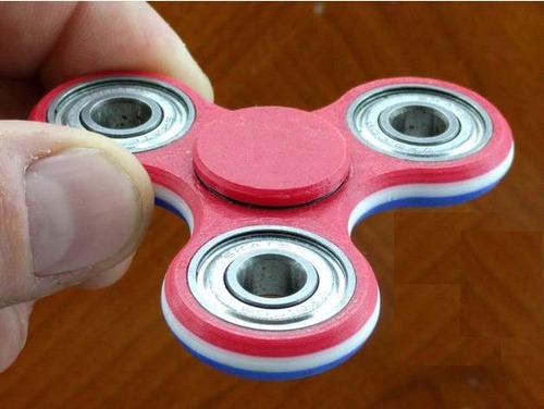 hand spinner - juguete antiestres ansiedad c/4 rulemanes