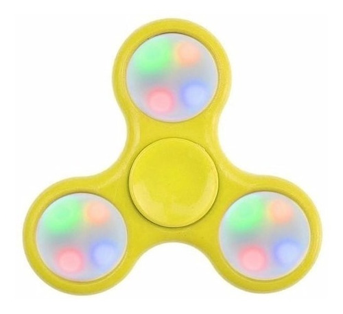 hand spinner rolamento fidget finger toy anti stress com led