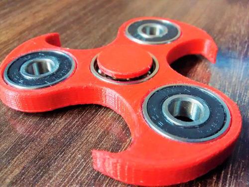 hand spinners - nacional - ruleman importado - rk rojo