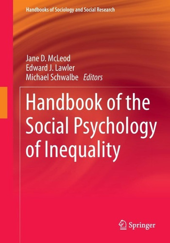 handbook of the social psychology of inequality(libro psicol