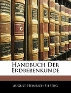 handbuch der erdbebenkunde, august heinrich sieberg