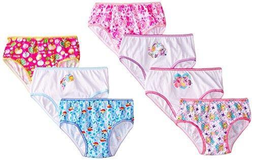 handcraft little girls 'my little pony panty (paquete de 7)