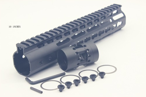 handguard 10'' polegadas aeg - m4 m16 airsoft trilho.