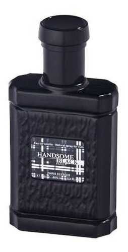 handsome black paris elysees de 100 ml - perfume masculino