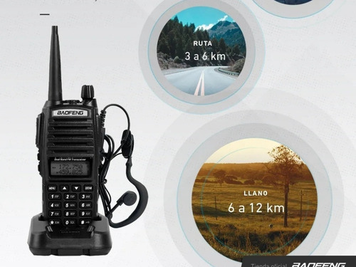 handy baofeng uv82 10w. dual band/dual watch/dual ptt.