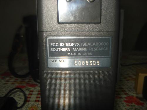handy maritimo sea lab 9000 made in japan completo funciona