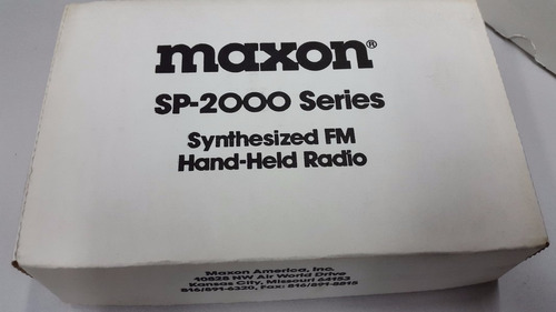 handy maxon uhf sp-2850 b programable