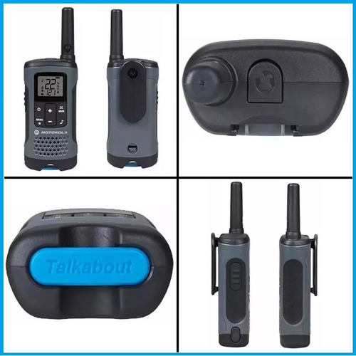 handy motorola walkie talkie t200tp trio 32km ivox/vox