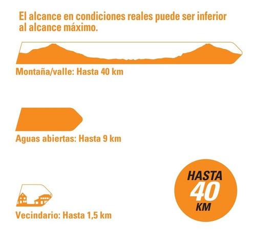 handy motorola walkie talkie t260 40km 33 canales ivox/vox