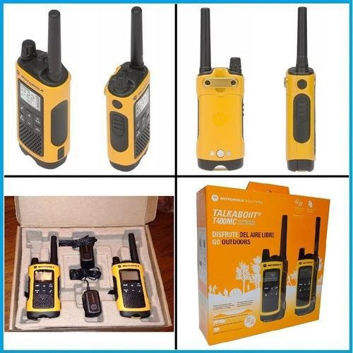 handy motorola walkie talkie t402 duo ip54 56km ivox/vox