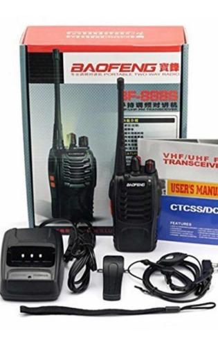 handy walkie talkie baofeng bf888s aprobado ursec uso libre