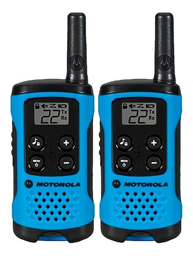 handy walkie talkie motorola talkbaout t100 two-way 25km