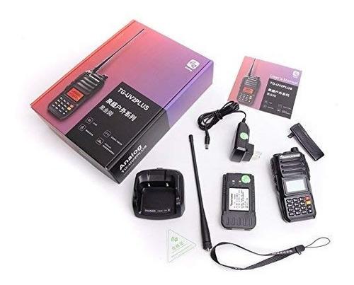handy walkie talkie quansheng nivel militar china 10 w