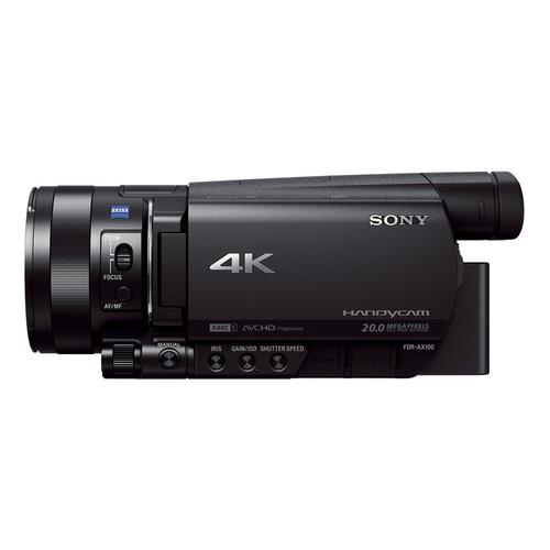handycam® 4k para expertos ax100