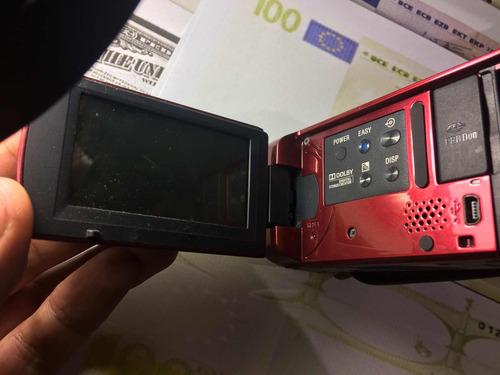 handycam sony dcr sx40e para repuestos display los dos bueno