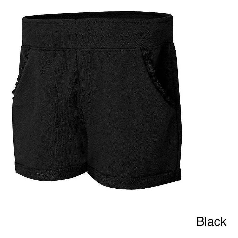 Hanes Girls Ruffle Pocket Short