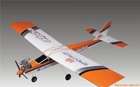 hangar 9  r/c airplane alpha 40 -  ready to fly
