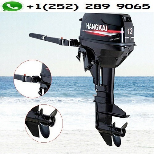 hangkai 12hp outboard engine 2stroke speed boat motor