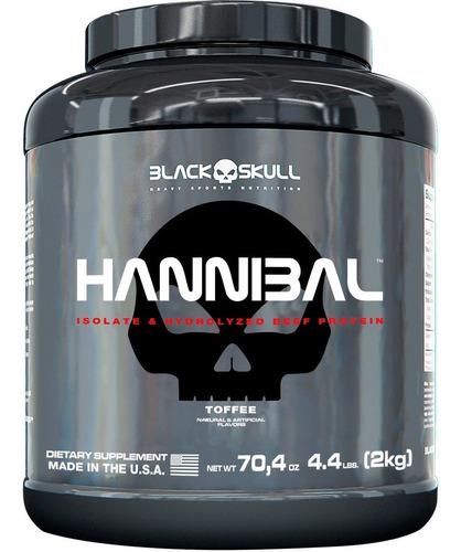 hannibal - 2kg (sabores) - black skull