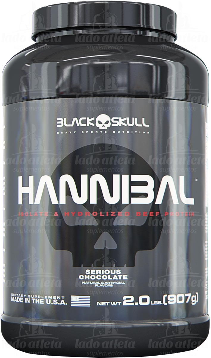 2fb356070 hannibal beef protein hidrolisado 907g - black skull by vpx. Carregando  zoom.