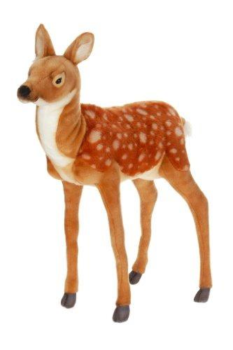 hansa plush - ciervos bambi de pie grandes de 32