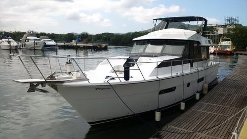 hanseatica 57 ano 1978 2xmotores detroit - marina atlântica