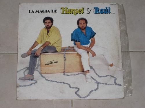 hansel & raúl la magia de disco lp acetato vinil