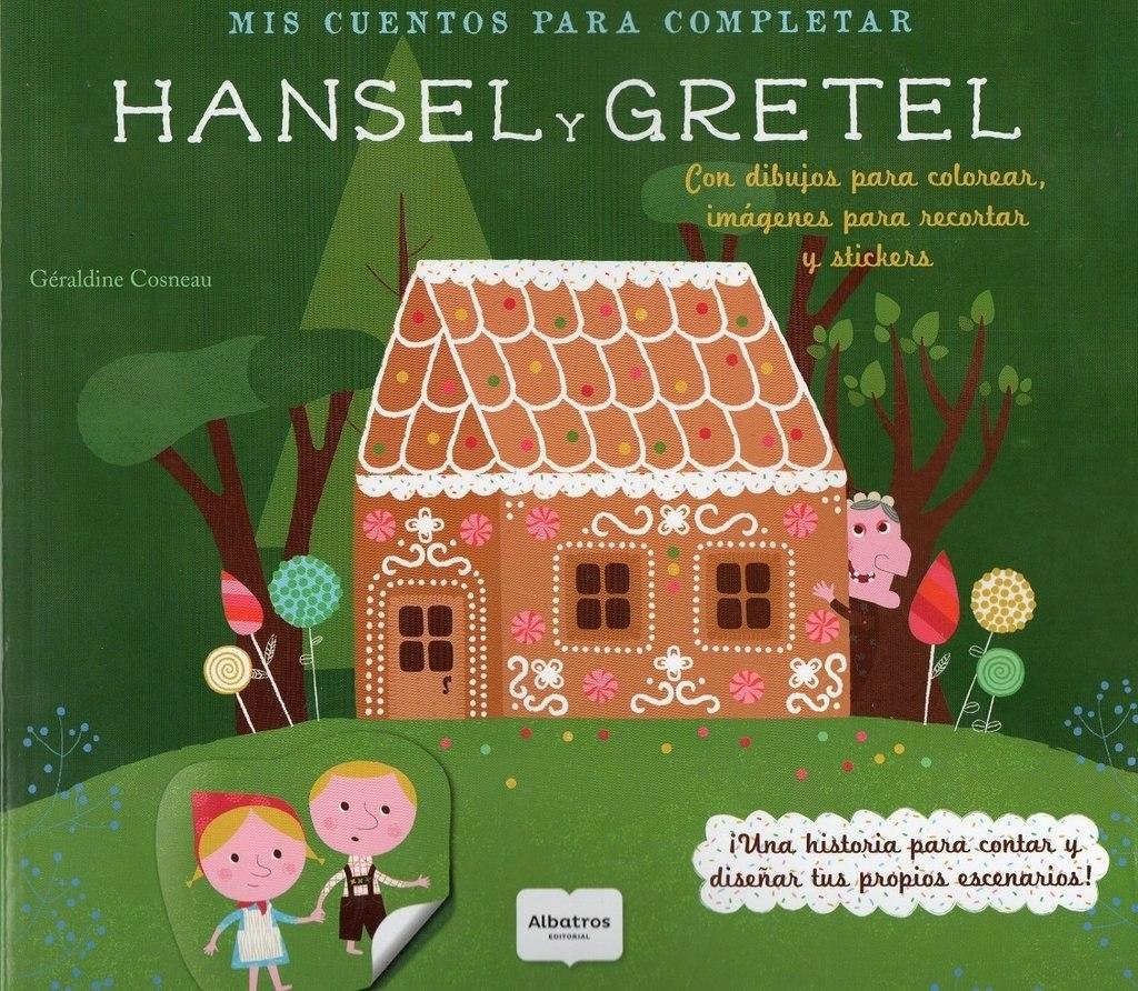 Hansel Y Gretel Con Dibujos Para Colorear - $ 225,00 en Mercado Libre