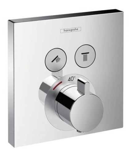 hansgrohe showerselect termostato para 2 funciones