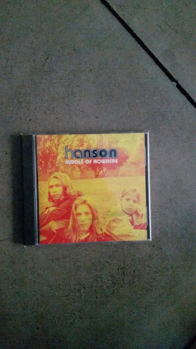hanson - middle of nowhere cd casi nuevo