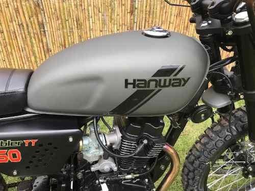 hanway scrambler  150 cc 2018 euro3 2 años de garantía