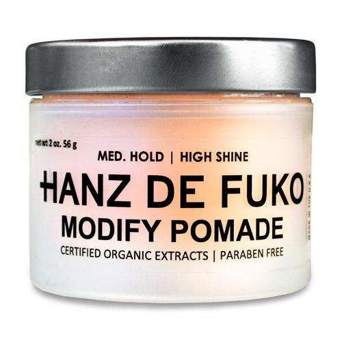 hanz de fuko - modify pomade - cera - pelo - hombre